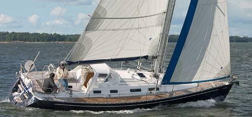 Segelbåtar 36-39 fot