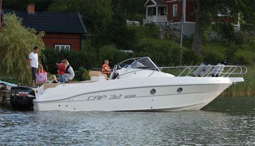 Motorbåtar 30-32 fot