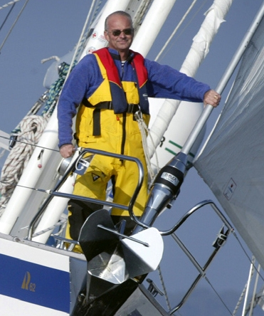Arne Mårtensson med besättning bloggar om sin seglats